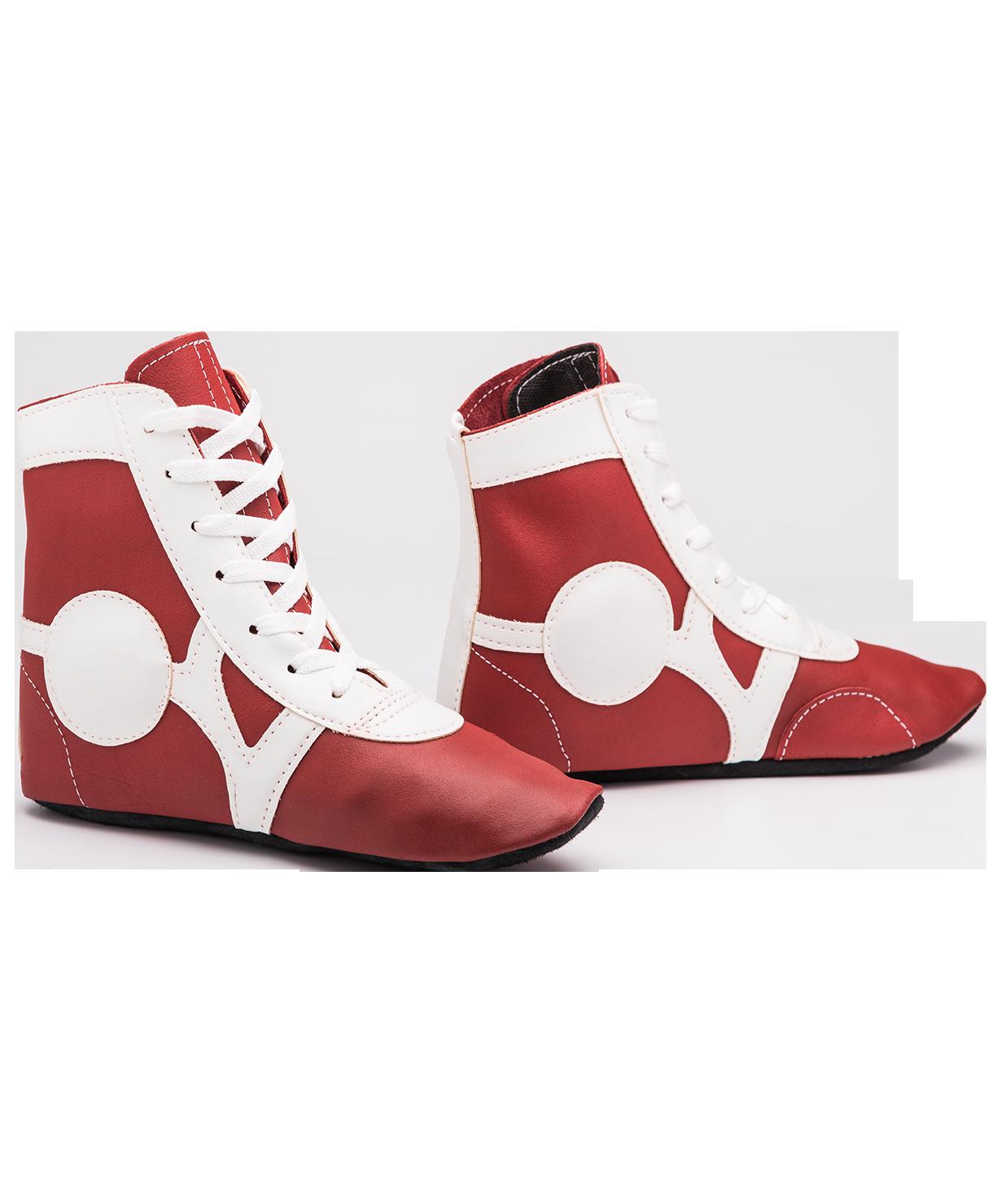 e3eff64d3 Обувь для самбо Rusco SM-0102, кожа, красный ― купить в Москве. Цена ...