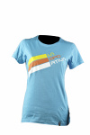 Футболка Stripe Logo T-Shirt W, Malibu Blue