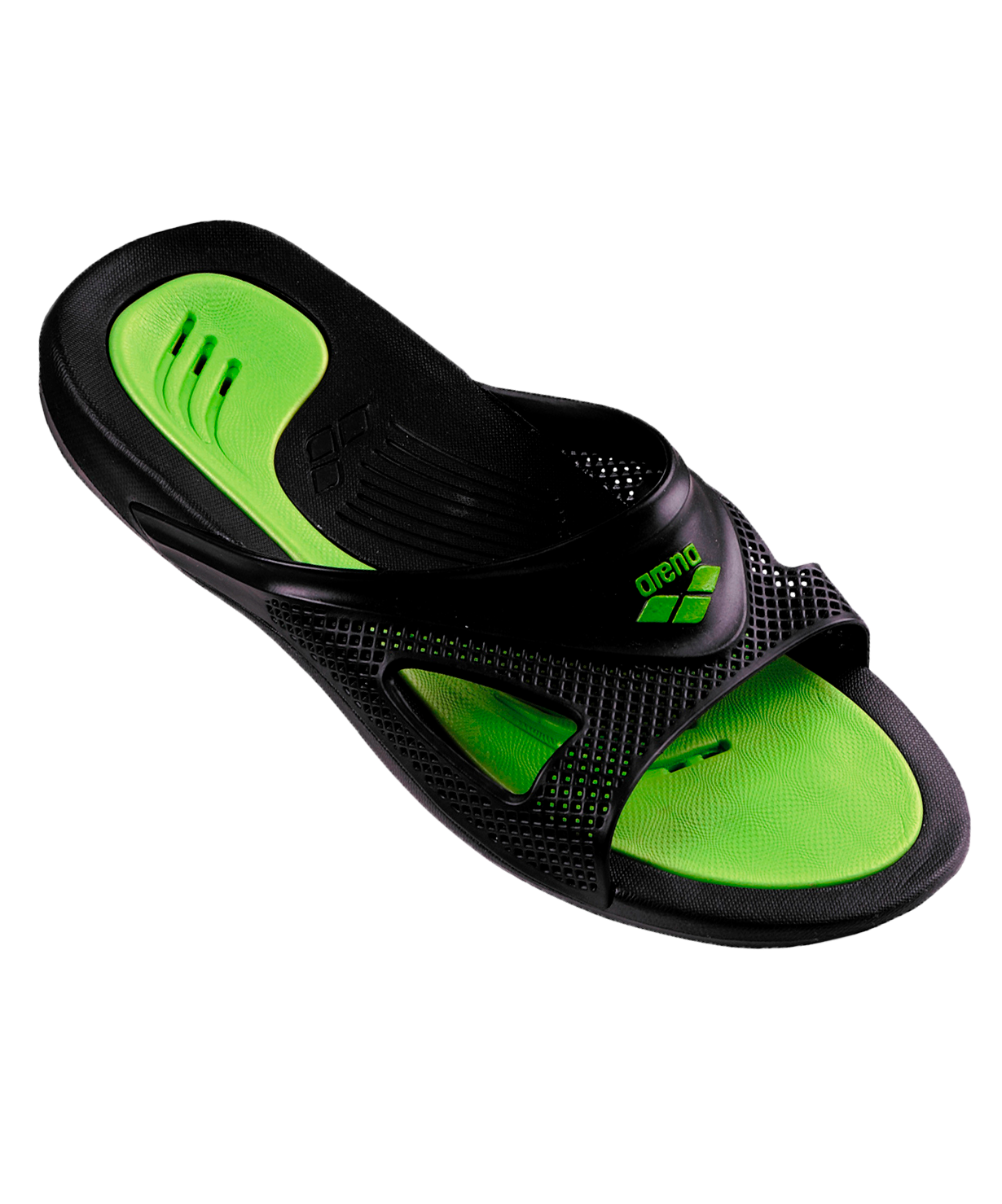 8f8f0a242d51 Сланцы мужские Arena Hydrofit Man Hook Black/Black/Green, 80706 56 ...