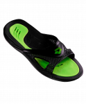 Сланцы мужские Hydrofit Man Hook Black/Black/Green, 80706 56