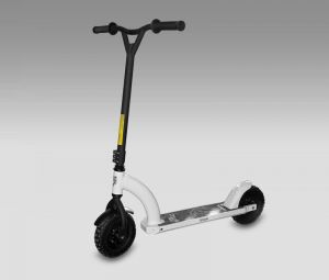 Самокат JD bug MS-808 DIRT SCOOTER WHITE