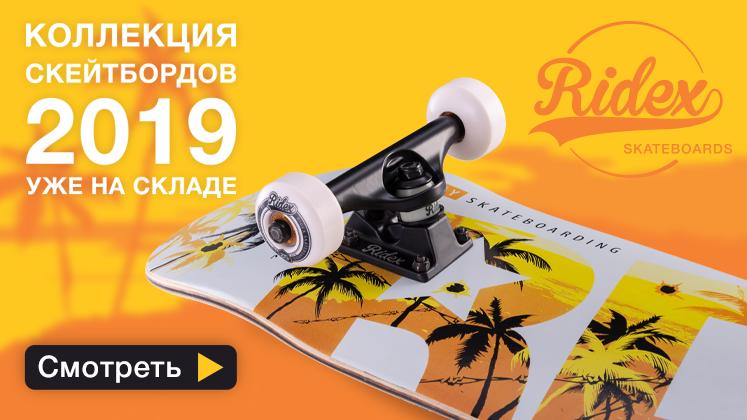 Коллекция скейтбордов 2019 уже на складе!